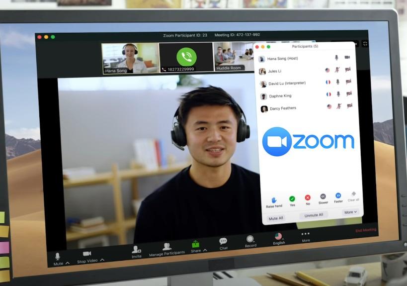 Zoom Çeviri Zoom Simultane Çeviri